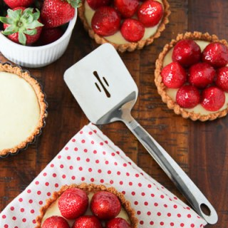Elegant Strawberry Cheesecake Tartlets