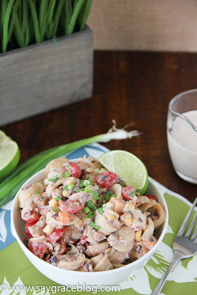Tex-Mex Chicken Pasta Salad