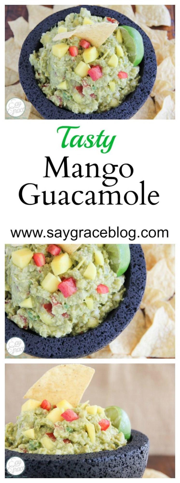 Tasty Mango Guacamole