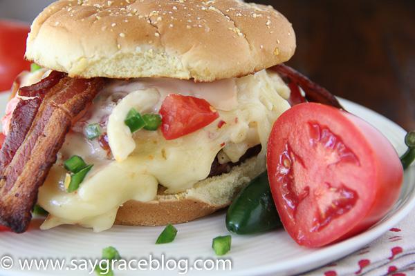 Baby Mac and Cheeseburger