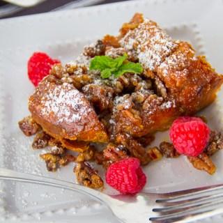 Sweet Potato French Toast Casserole