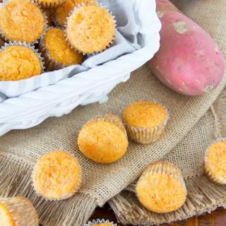 Sweet Potato Muffins {Beans & Cornbread Copycat}