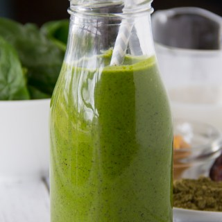 Over The Rainbow Green Smoothie {Sip Organic Juice Bar Copycat} {Video}
