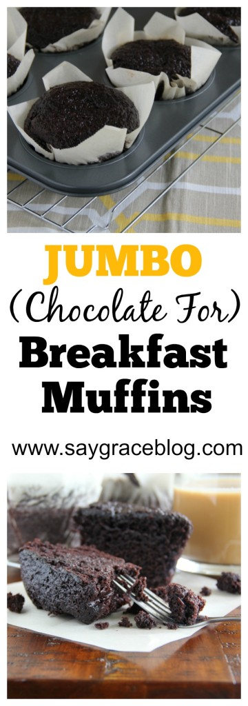 Chocolate For Breakfast Muffins