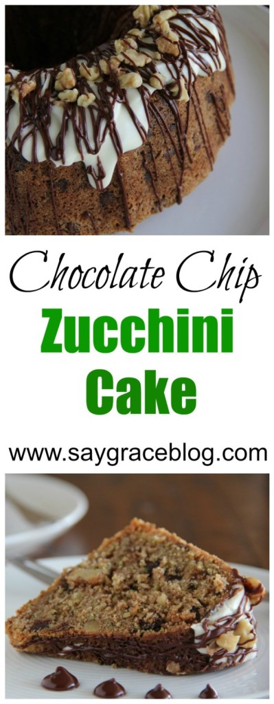 chocolate chip zucchini cake chocolate chip zucchini cake say grace 2854