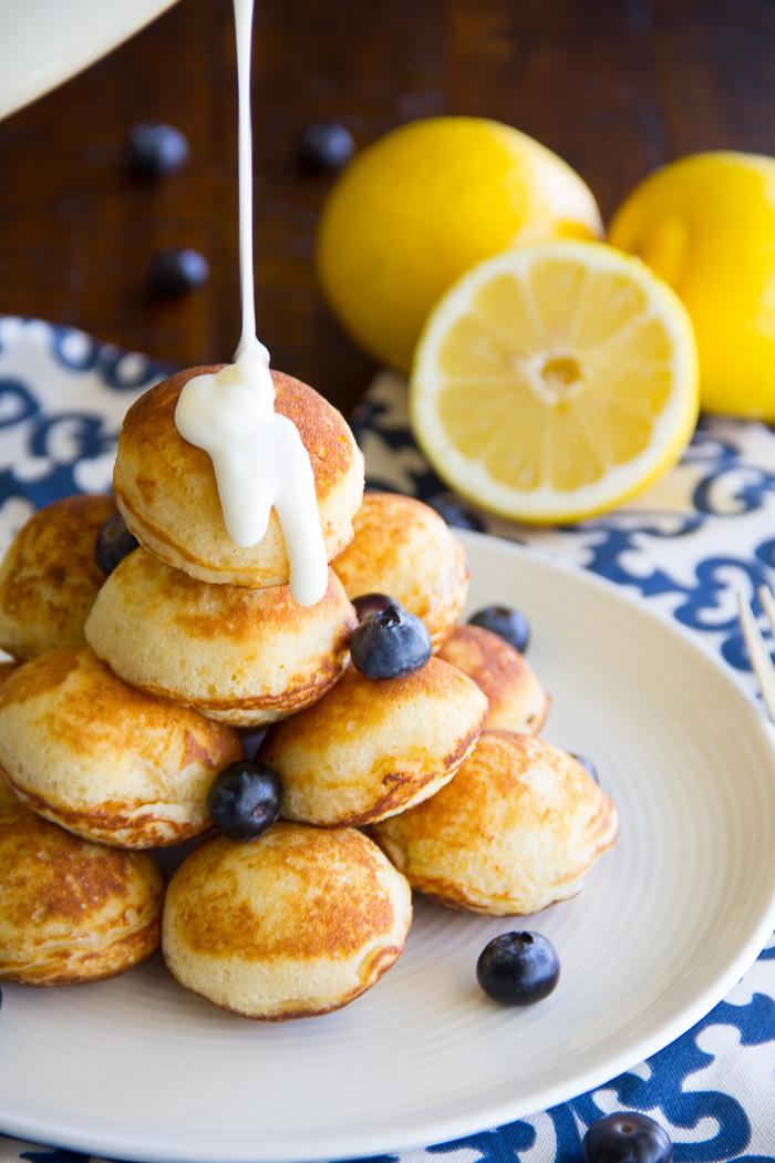 Lemon blueberry pancake poppers say grace lemon blueberry pancake poppers ccuart Images