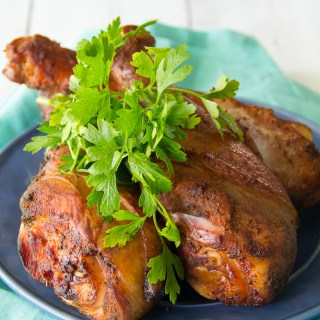 Smoked Turkey Legs {Disney World Copycat}