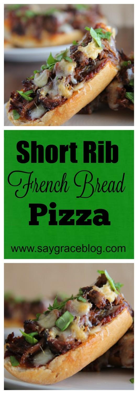 Short Rib French Bread Pizza