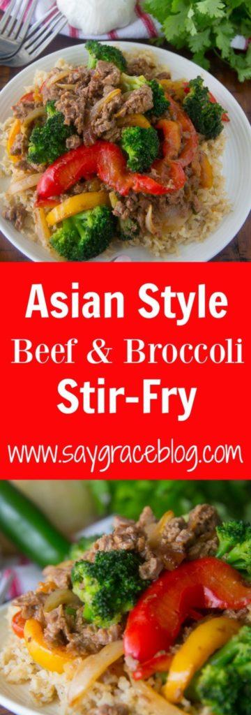 Asian Style Beef & Broccoli Stir-Fry