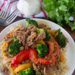 Asian Style Beef and Broccoli Stir-Fry