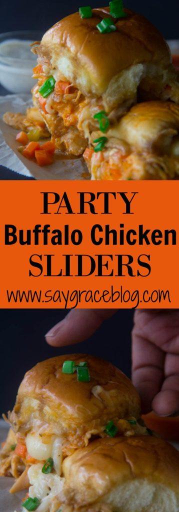 Party Buffalo Chicken Slider