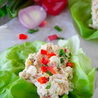 Wild Albacore Tuna Salad Recipe with Eggs