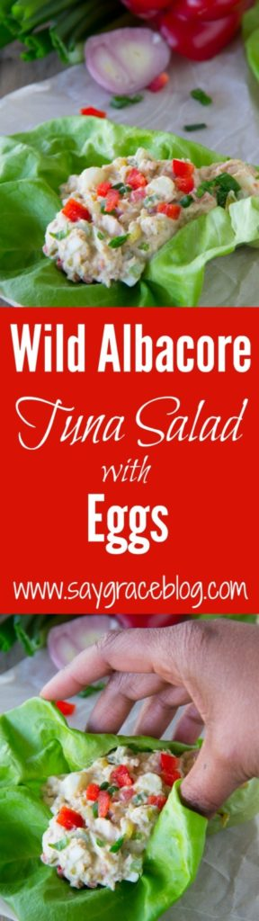 Wild Albacore Tuna Salad with Eggs