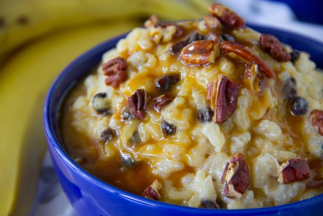 Salted Caramel Rice Pudding Recipe