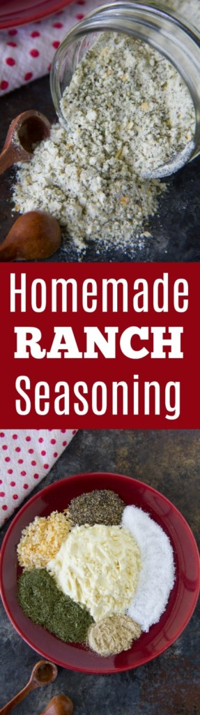 Homemade Ranch Seasoning Recipe