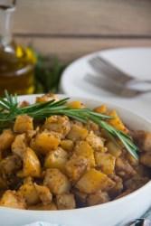Oven Roasted Rosemary Potatoes {Matt's Big Breakfast Copycat}