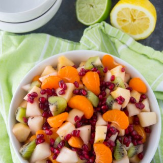 Winter Fruit Salad Recipe