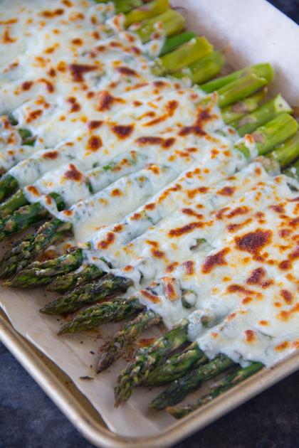 Garlickyand Cheesy AsparagusRecipe