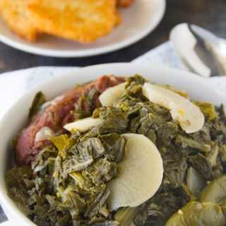 Auntee Gail's Turnip Greens Recipe