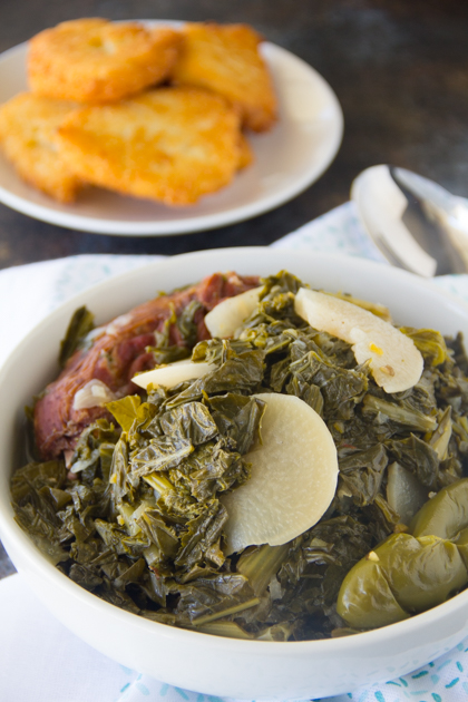 The only Southern Turnip Greens recipe you'll ever need!