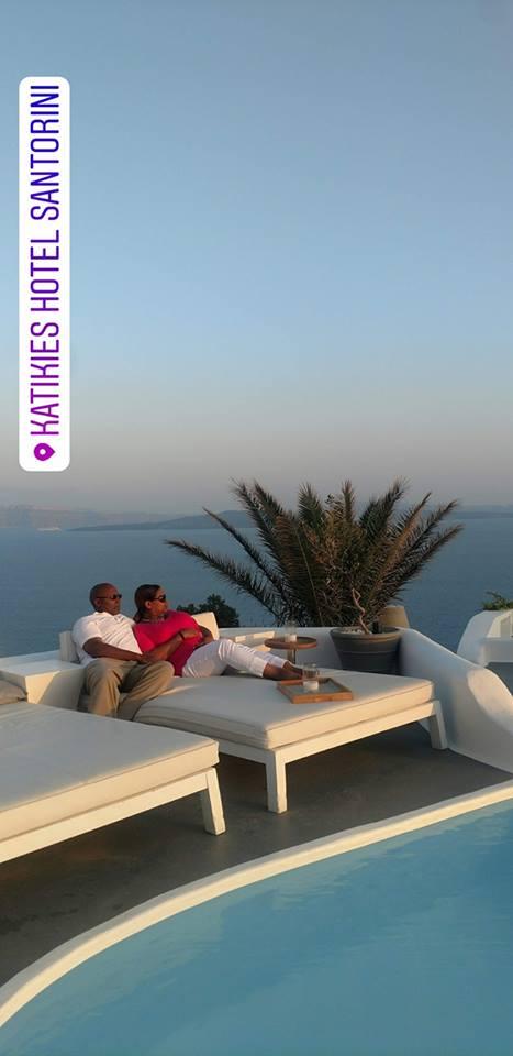 Katikies Resort in Santorini, Greece
