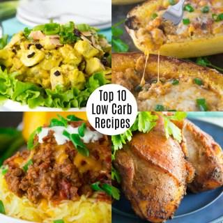 Top Ten Low Carb Recipes