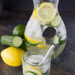 Benefits of Lemon Lime and Cucumber Water