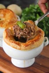 Braised Beef Short Rib Pot Pie