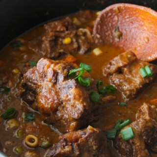 How To Make Oxtail Stew {4th Blogiversary Giveaway}