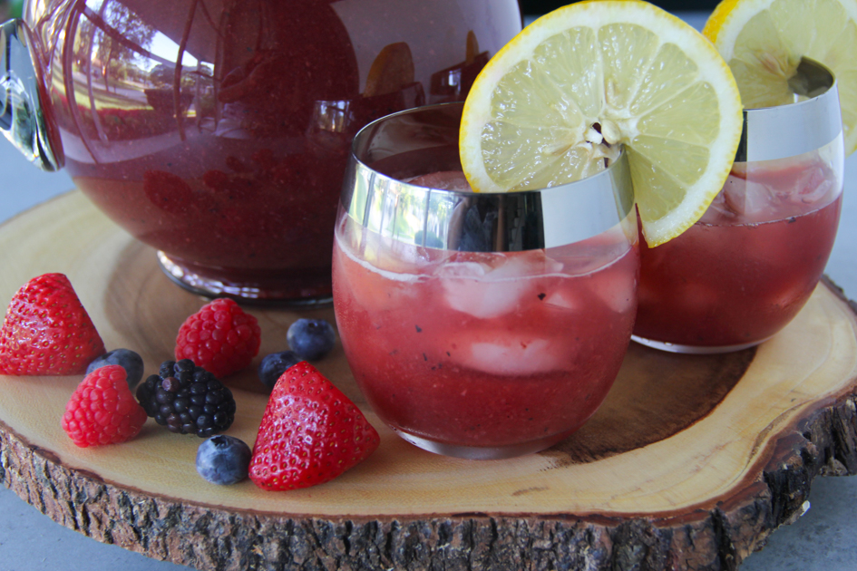 Very Berry Sweet Tea