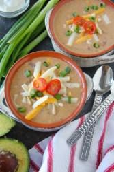 Spicy Queso Soup Recipe