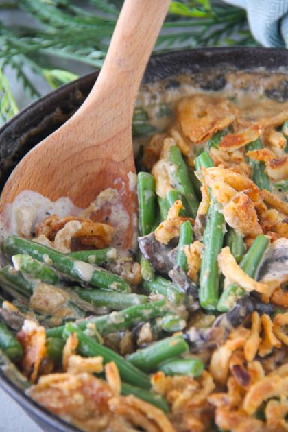 Low Sodium Green Bean Casserole