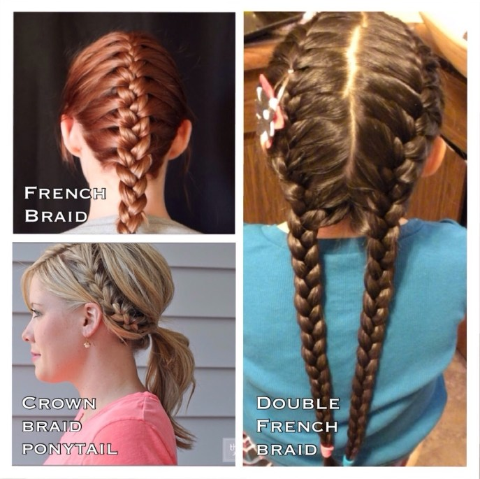 diy volleyball hairstyles