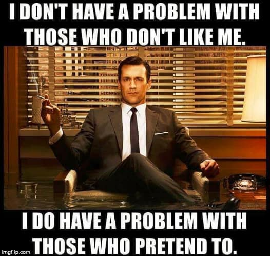 fake friends problem meme