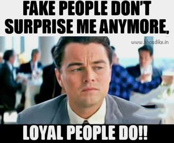 fake friends surprise meme
