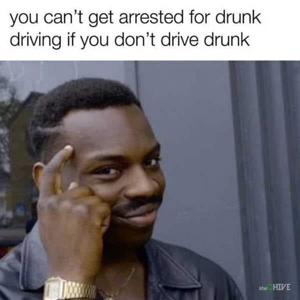 funny drunk driving memes