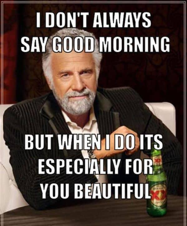 Good Morning Gorgeous Meme : morning, gorgeous, Morning, Memes, Kickstart, SayingImages.com