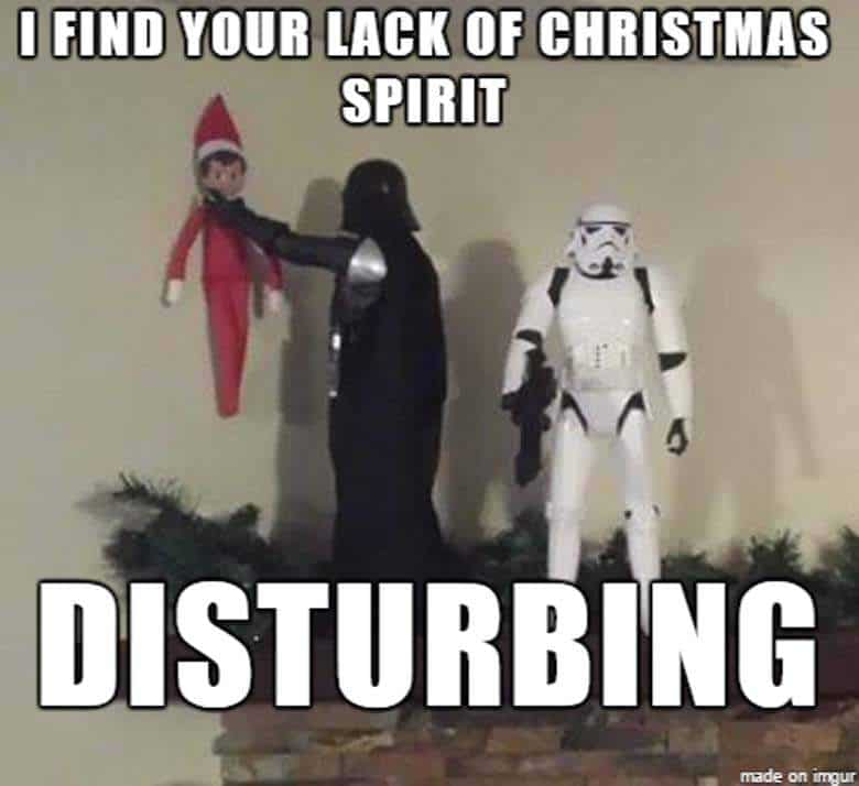 i find your lack of christmas spirit disturbing funny merry memes