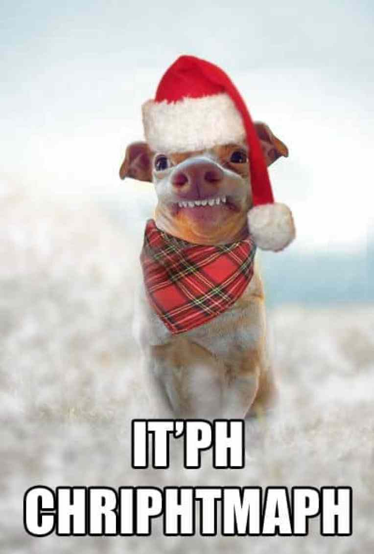 itph chriphtmaph funny merry christmas memes