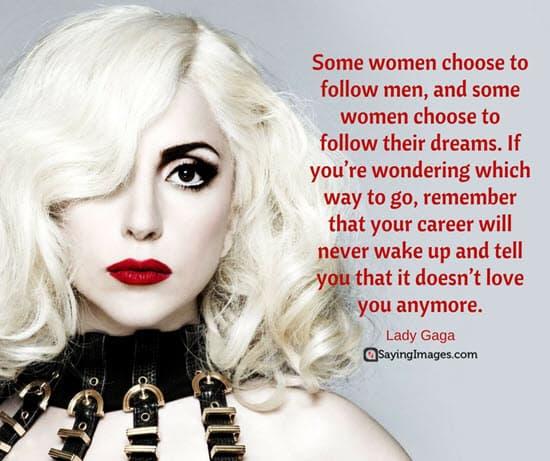 lady gaga women quotes