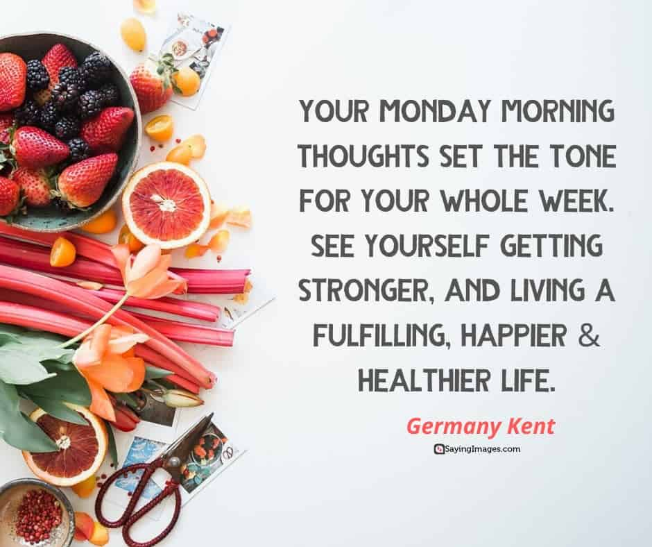 35 Positive Monday Quotes That Will Get You Fired Up | SayingImages.com