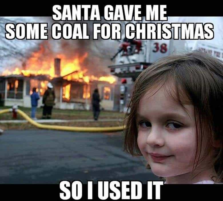 santa gave me merry christmas memes