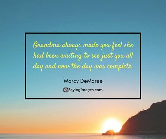 short grandparent quotes