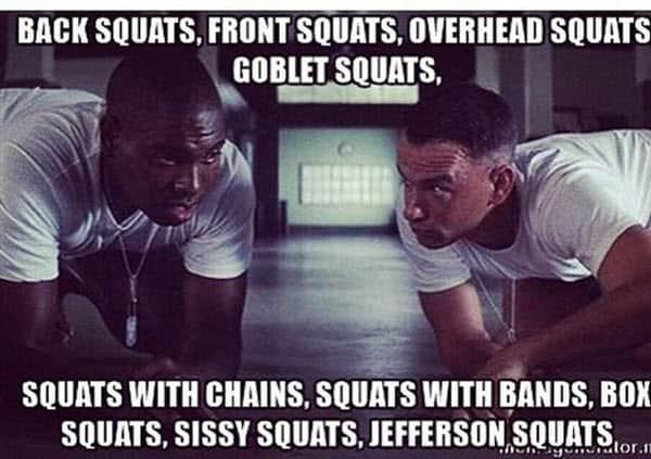 squat bubba meme