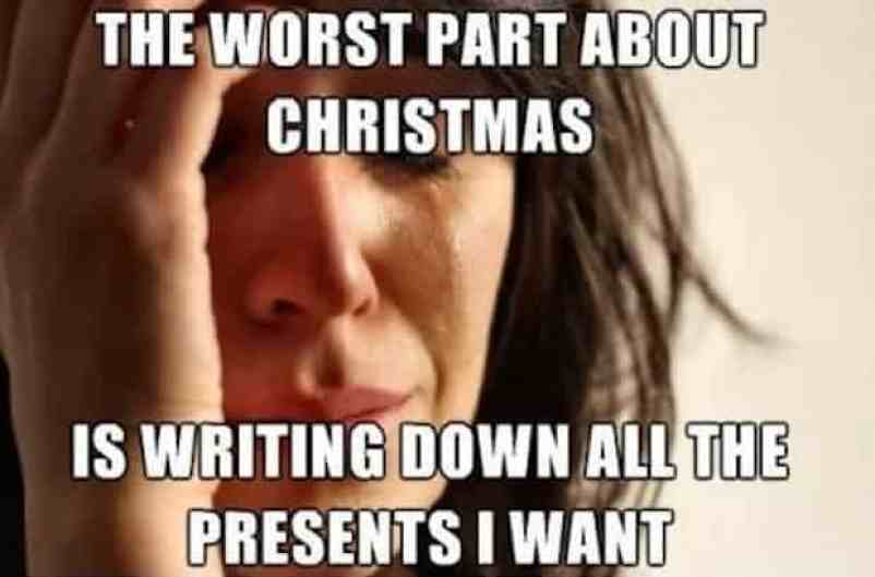 the worst part merry christmas memes