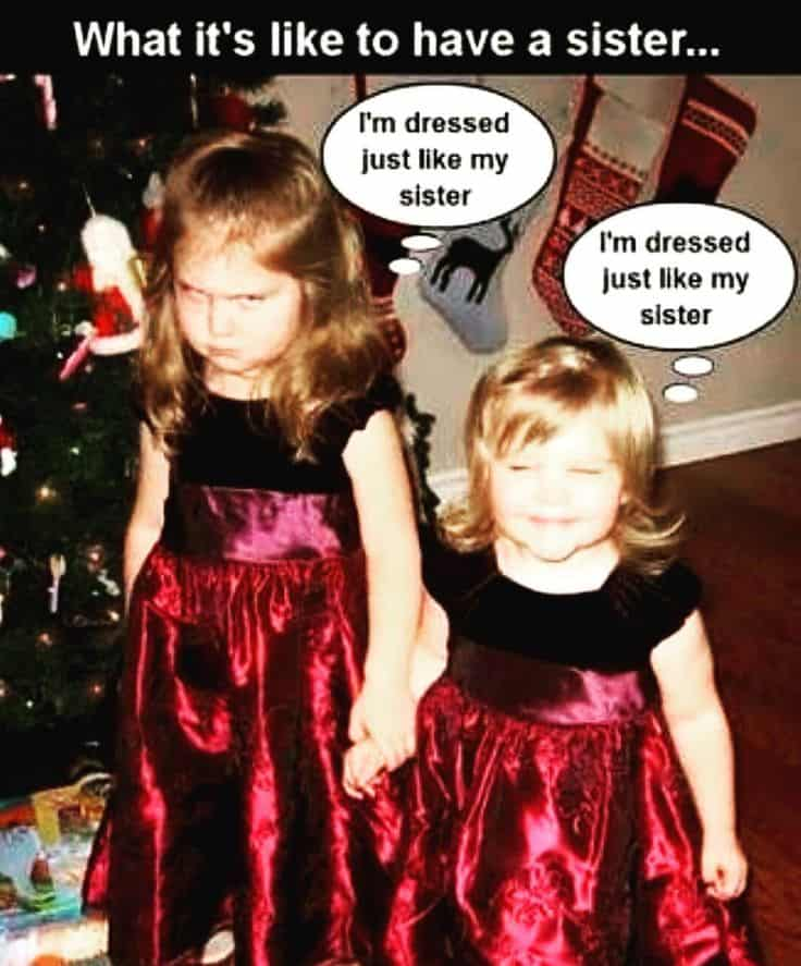Funny Sister Captions : funny, sister, captions, Totally, Funny, Sister, Memes, Relate, SayingImages.com