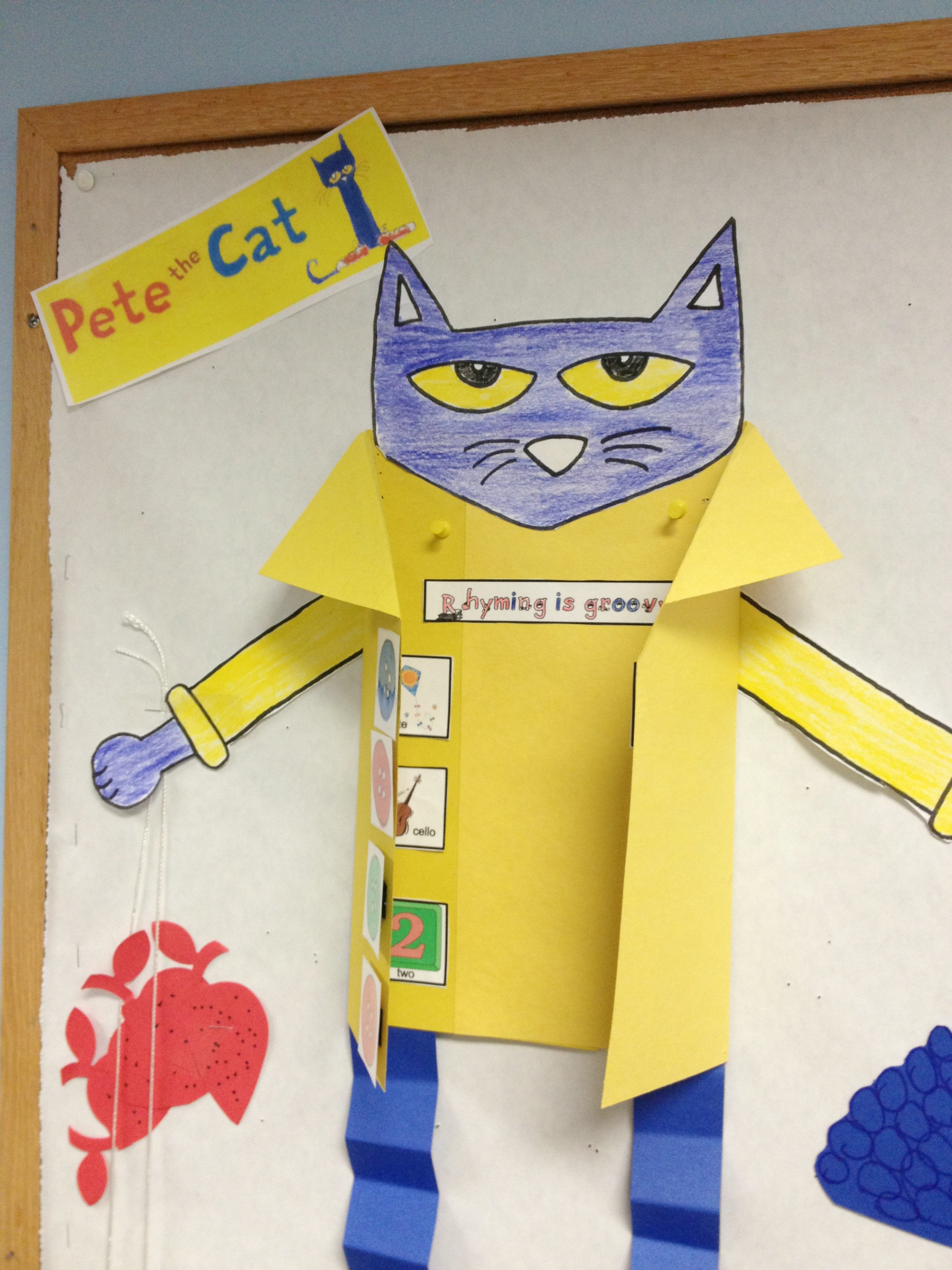 Create A Pete The Cat Literacy Retelling Station