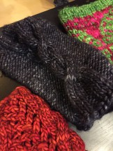 Fingerless mitts by Lars
