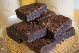 Sea salt chocolate fudge brownies