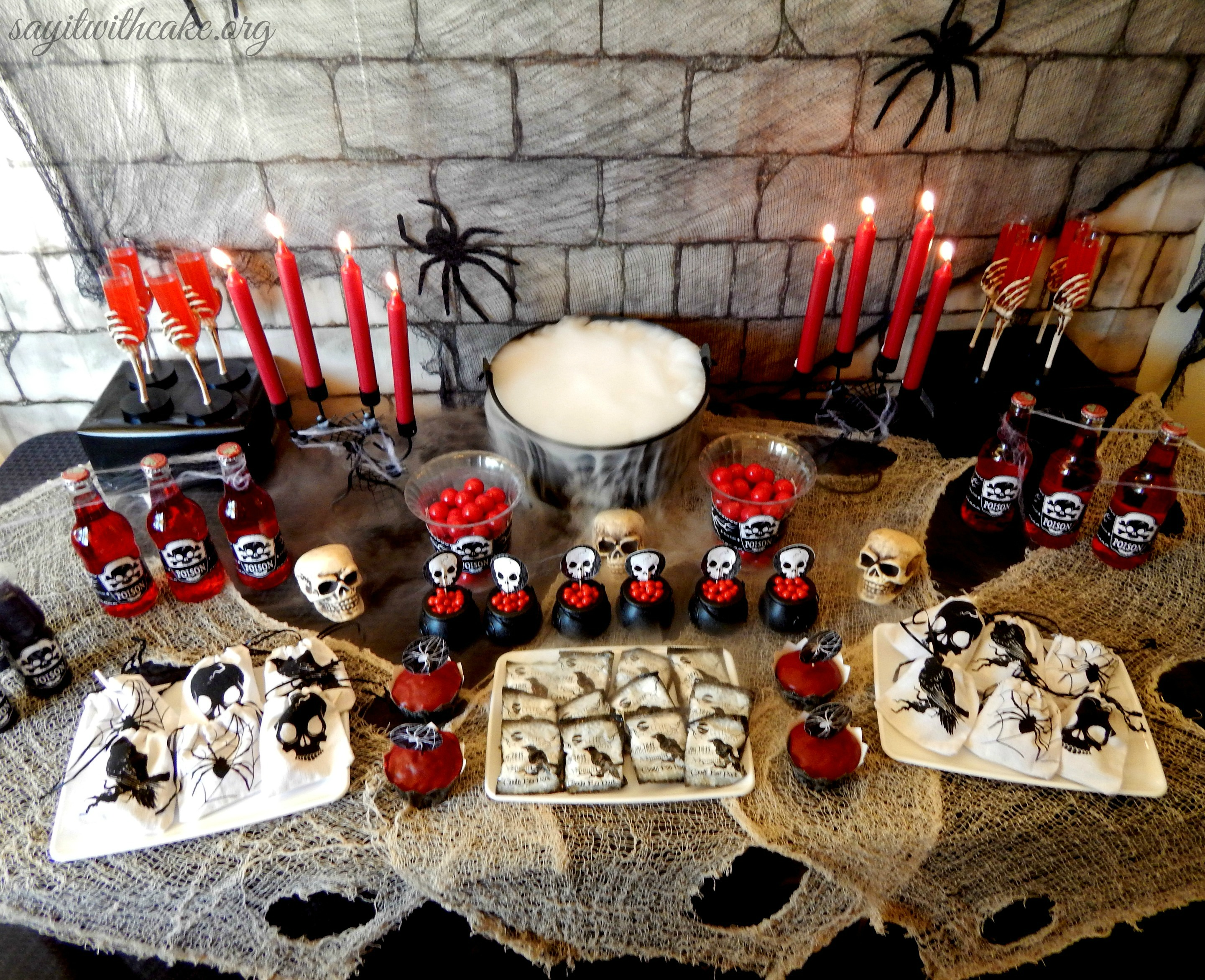 Halloween Party For Kids Say It With Cake